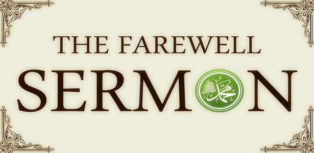 farewell sermon