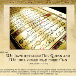 Picture Perfect : Allah will Guard the Quran from Corruption
