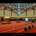 Aisha Mosque Interior - Praying Area