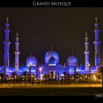 055 Sheikh Zayed Mosque in Abu Dhabi - UAE