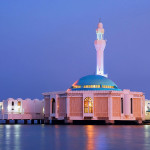 076 Mosque on water - Jeddah, Saudi Arabia