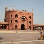 090 Jama Masjid - New Delhi, India - Inside