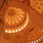 106 Inside view of Sultan Ahmet Camii Mosque - Istanbul - 02