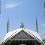 151 Shah Faisal mosque in Islamabad, Pakistan