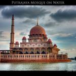 179 Putrajaya Mosque on Water - Malaysia