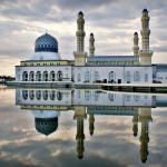 183 Likas Mosque, Kota Kinabalu, Malaysia