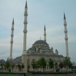 248 Central Dome Mosque of Grozny, Chechnya (Russia)