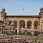 Inside of Makkah Masjid - Hyderabad