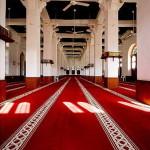 Interior of Mosque in Souq Waqif - Doha, Qatar
