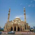 Mosque in Sharjah - Turkish Design