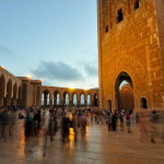 Walking along the mosque - Hassan 2