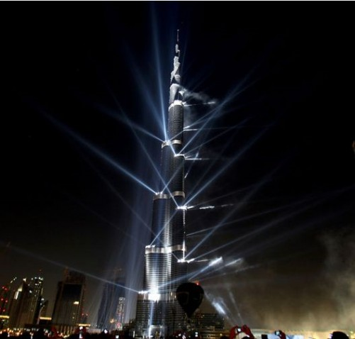 Burj Khalifa, Dubai - The World's tallest building.