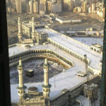 Aerial view of Kaaba - 19-10-10