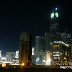 Makkah Clock tower at night - 21-10-10