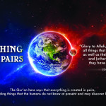 Picture Perfect : Quran & Modern Science – Allah created in Pairs, all things..