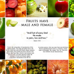 Picture Perfect : Quran & Modern Science – Fruits have Male & Female