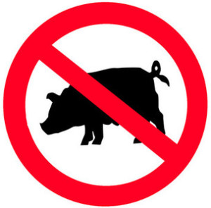 Pork is forbidden