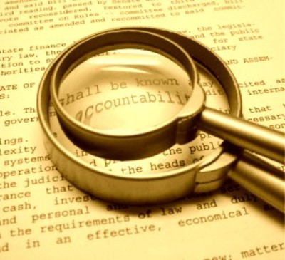 Blogging accountability