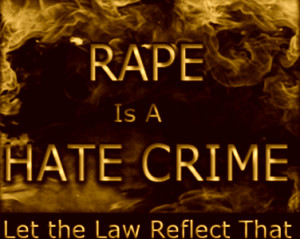 Rape is a crime