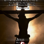 Picture Perfect : Jesus not Crucified