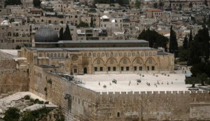 The al-Aqsa Mosque is one of Islam's three most holy sites.