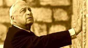 The Terrorist and Criminal - Ariel Sharon