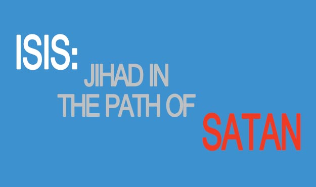 Jihad in the path of Satan