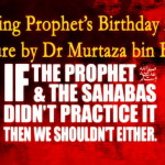 Urdu Dars: Celebrating Prophet's Birthday is Bid'ah